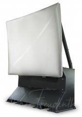 Hochglanz-Spiegelreflektor mit 6m Höhe